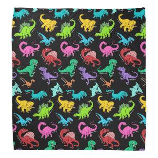 Rainbow Dinosaurs Bandana