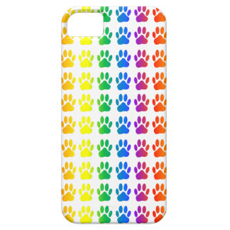 Rainbow Dog Pawprint iPhone 5 Cover