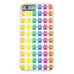 Rainbow Dog Pawprint iPhone 6 Case
