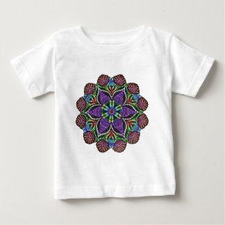 Rainbow Doily Mosaic Baby T-Shirt