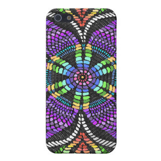 Rainbow Doily Mosaic Cover For iPhone SE/5/5s