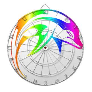 Rainbow Dolphin Dart Boards