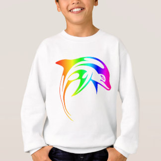 Rainbow Dolphin Sweatshirt
