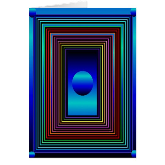 Rainbow Door-4 Card