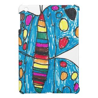 Rainbow Dot Butterfly by Nina Sparkles iPad Mini Case