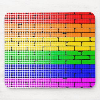 Rainbow Dot Matrix Mouse Pad