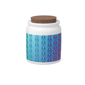 Rainbow Dots Candy Jar