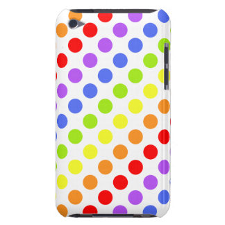 Rainbow Dots Barely There iPod Covers