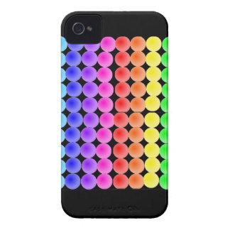 rainbow dots Case-Mate iPhone 4 case