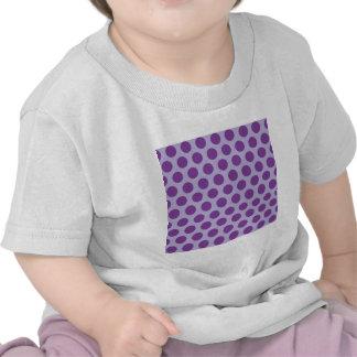 Rainbow Dots Collection - Purple 2 Tee Shirt