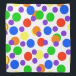 "Rainbow Dots Colorful Bandana For People &amp; Pets<br><div class=""desc"">Rainbow Dots Colorful Bandana For People &amp; Pets</div>"