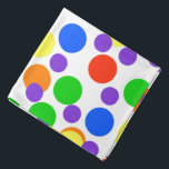 "Rainbow Dots Colorful Bandana For People & Pets<br><div class=""desc"">Rainbow Dots Colorful Bandana For People & Pets</div>"