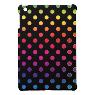 Rainbow Dots iPad Mini Covers