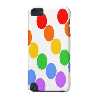 Rainbow Dots iTouch Cover