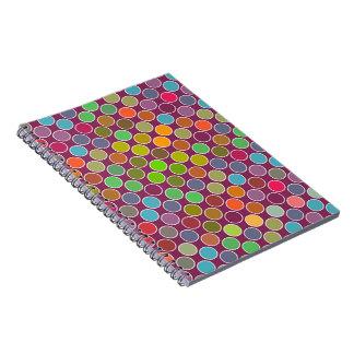 Rainbow Dots Journal Notebook