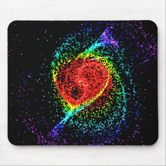 Rainbow Dots Mouse Pad