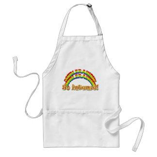 Rainbow Double Design Adult Apron