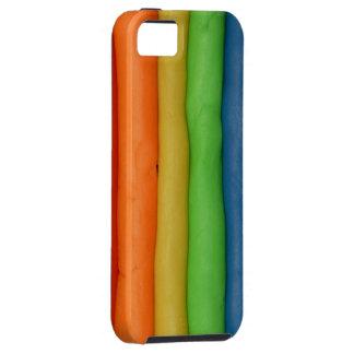 Rainbow Dough Strings iPhone SE/5/5s Case