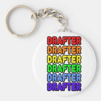 Rainbow Drafter Keychains