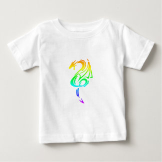 Rainbow Dragon 5 Baby T-Shirt