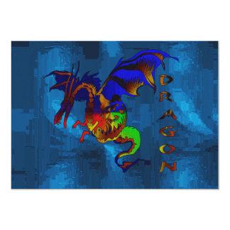 Rainbow Dragon Card