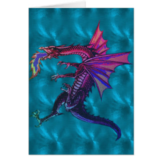 Rainbow Dragon Card