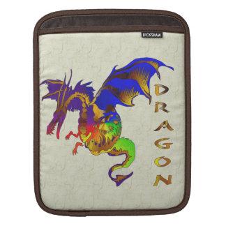 Rainbow Dragon iPad Sleeves