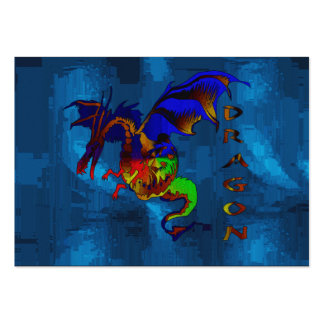 Rainbow Dragon Large Business Card