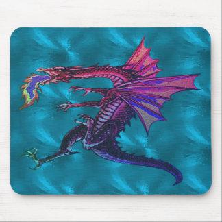 Rainbow Dragon Mousepad