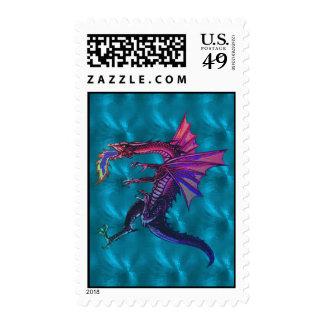 Rainbow Dragon Postage