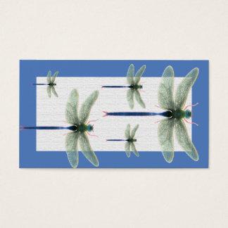 Rainbow Dragonfly Customizable Business Cards