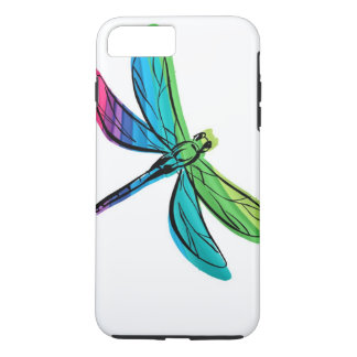 Rainbow Dragonfly iPhone 7 Plus Case