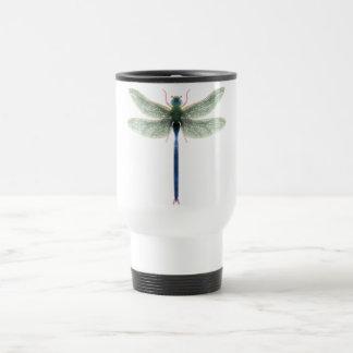 Rainbow Dragonfly Travel Commuter Mug