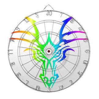 Rainbow Dragon's Head Dartboards