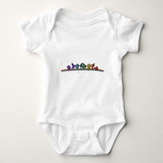 Rainbow Dragons Infant Creeper
