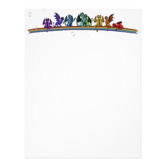 Rainbow Dragons Letterhead