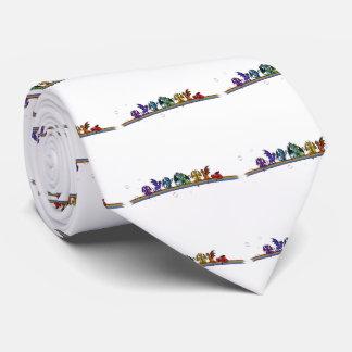 Rainbow Dragons Tie