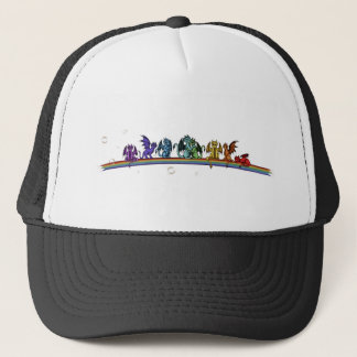 Rainbow Dragons Trucker Hat