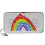 Rainbow Drawing iPod Speaker