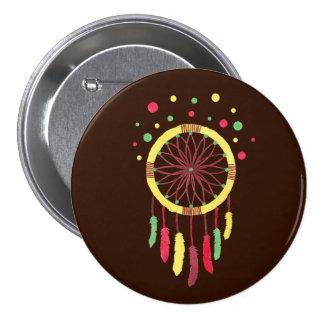 Rainbow Dreamcatcher Pinback Button