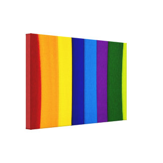 Rainbow Dreams Gallery Wrapped Canvas
