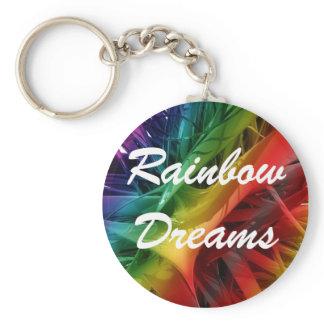 Rainbow Dreams Keychain