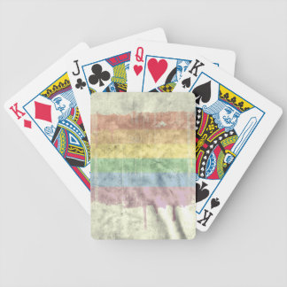 Rainbow drip distressed.png deck of cards