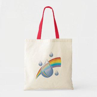 Rainbow drops bag