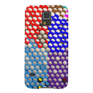 RAINBOW DROPS : Colorful Dot patterns Galaxy S5 Covers