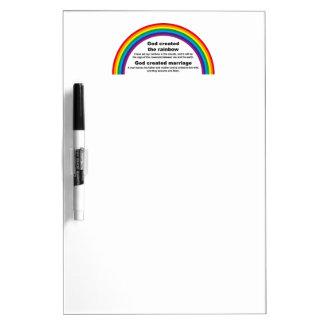 Rainbow Dry-Erase Board