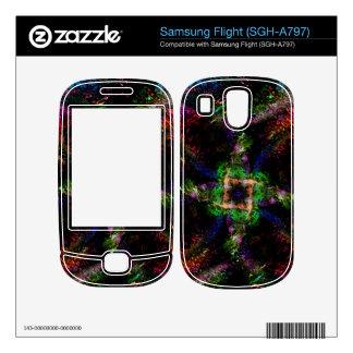 Rainbow Dust Decal For Samsung Flight