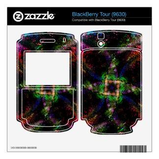 Rainbow Dust Skin For The BlackBerry