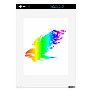 Rainbow Eagle #2 Decals For iPad