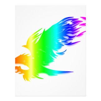 Rainbow Eagle #2 Letterhead